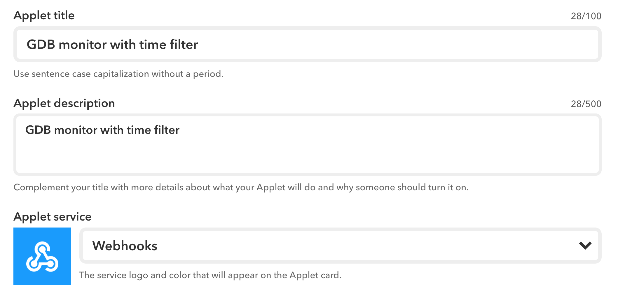Use IFTTT to enable notification based on date/time for the